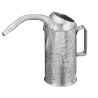 Image Plews 75-442 MEASURE LIQUID 2QT. GALV STEEL FLEXIBLE SPOUT