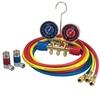 Image Robinair 45111 Gauge Set A/C 72 134a hose and couplers