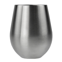 Image Sarge DW-101 VINO - STAINLESS STEEL STEMLESS WINE GLASS