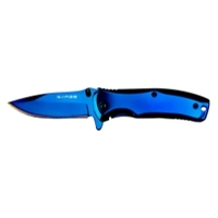Image Sarge SK-503BL PHASE - BLUE TIN SWIFT ASSIST POCKET KNIFE