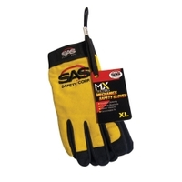 Image SAS Safety 6634 XL YELLOW PRO TOOL SAFETY GLOVES
