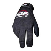 Image SAS Safety 6654 GLV XL BLK 1PR MECH