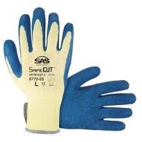 Image SAS Safety 6772-04 Aramid Yarn Glove, Latex Palm XL