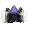 Image SAS Safety 8661-93 BANDIT HALF MASK RESPIR W/OV CART & N95 FILTER L