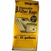 Image Shop Vac 906-63-62 Disp Collect Bag 16-25 Gal 3pk