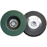 Image Shark Industries Ltd 12907 4-1/2 ZIRC FLAP WHEEL