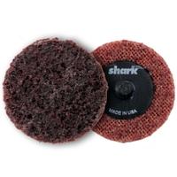 Image Shark Industries Ltd 13018 25PK 2IN Surface Prep Disc Med. (Maroon)