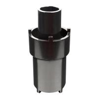 """Image Sunex 10206 2 7/8"""" axle nut spanner socket"""