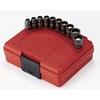 "Image Sunex 1820 10pc 1/4"" dr. Magnetic SAE Impact Socket Set"