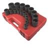 Image Sunex 2819 12 Point SAE Impact Socket Set