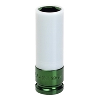 "Image Sunex 28496 7/8"" NO SCRATCH SOCKET GREEN"