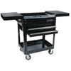 Image Sunex 8035 (Black) Compact Slide Top Utility Cart Black