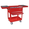 Image Sunex 8035R Compact Slide Top Utility Cart Red