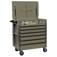 Image Sunex 8057CAMO Premium Full Drawer Service Cart - CAMO