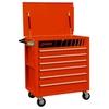 Image Sunex 8057O Premium Full Drawer Service Cart - Hugger Orange