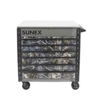 Image Sunex 8057TTKANATI Sunex Tools Premium Full-Drawer Tool Cart, True T