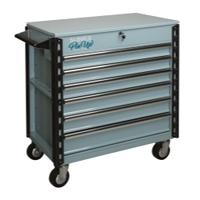 Image Sunex 8057XTELEANOR Sunex Tools Full-Drawer Service Cart, Pin Up Girl