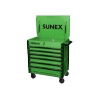 Image Sunex 8057XTLG Sunex Tools Premium Full-Drawer Service Cart, Lim