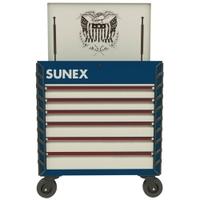 Image Sunex 8057XTUSA1 Premium Full Service Cart-USA