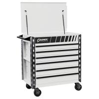 Image Sunex 8057XTWH Premium Full Drawer Service Cart-White