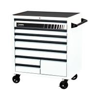 Image Sunex 8060WH Sunex Premium 8 Drawer Service Cart