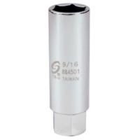 "Image Sunex 884501 3/8"" Dr. 9/16"" Spark Plug Socket"