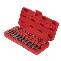 Image Sunex 9933 14Pc. Impact Ready Magnetic Nut Setters Set (SAE/M