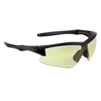 Image Uvex S4162XP Acadia Eyewear - Black with Amber Shades