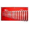 Image V-8 Tools 9317 17PC STANDARD LENGTH COMBO WRENCH SET, MM