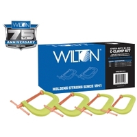 Image Wilton 11114 Spark-Duty 400CS Hi-Vis C-Clamp Kit