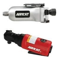 "Image AirCat 1320/807 3/8"" Butterfly Impact Mini-Ratchet Kit"
