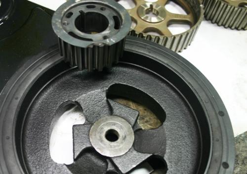 Crankshaft Endplay on Dodge Stratus 2 4 Timing Belt Marks