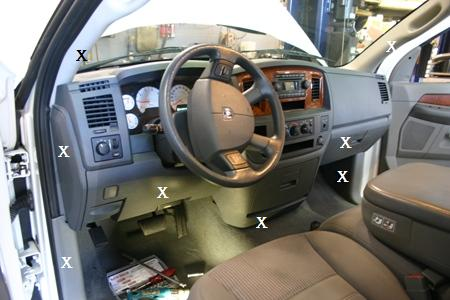 Dodge Ram Parts To Remove on 2001 Dodge Dakota Heater Switch Removal