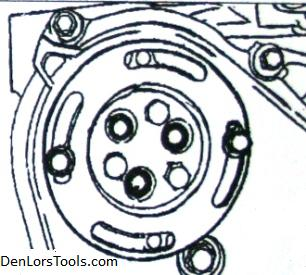 gm 2 2 ecotec water pump job made easy j 43651 tech articles note that on some models the exhaust manifold need to be removed to allow room for the water pump to come out remove the water pump drain bolt and