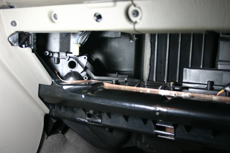 Jeep Cherokee Blend Door Repair Images