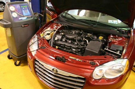 Chrysler Sebring w/AC Machine